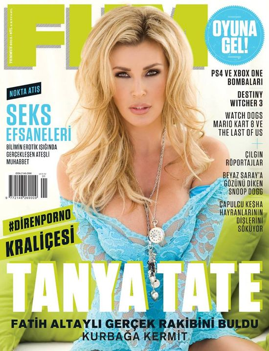 FHM Magazine Turkey Tanya Tate Front Cover