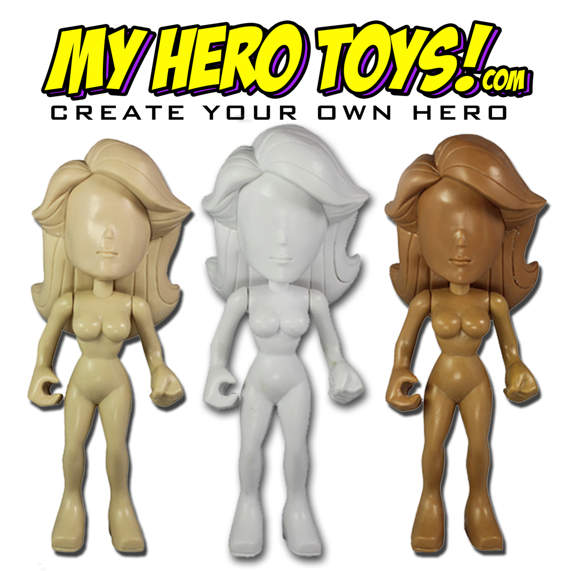 My Hero Toys - Customizable Vinyl Figure