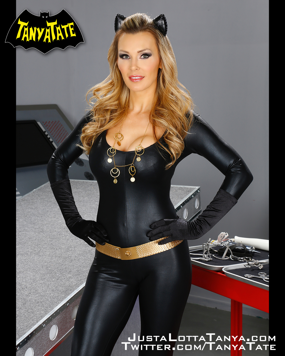 8 x 10 Tanya Tate Cosplay Homage to Catwoman Print