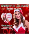 Tanya Tate Happy Holidays Limited Edition Ornament